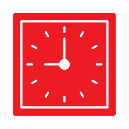 clock icon Stock Vector - 77490653
