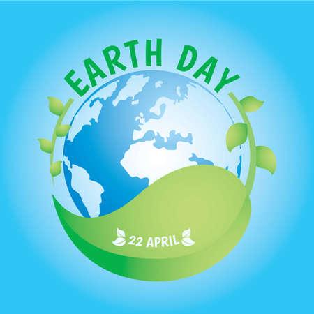 earth day design Stock fotó - 77392650