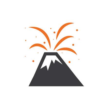 RUption volcanique Banque d'images - 77503032