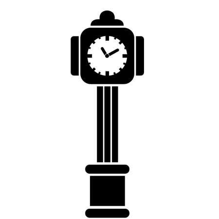 A grandfather clock