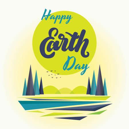 An earth day design