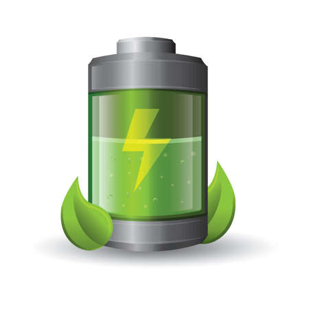 battery with eco friendly concept