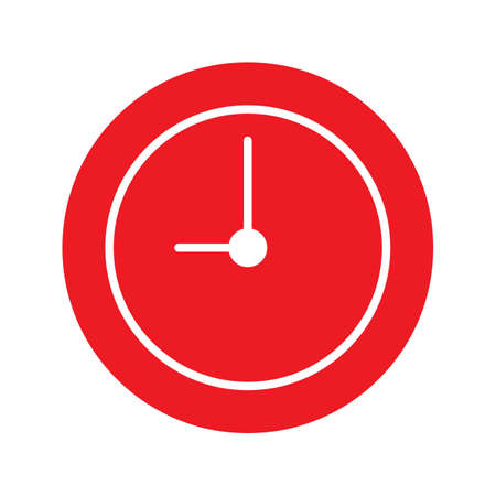 clock icon Stock Vector - 77395154