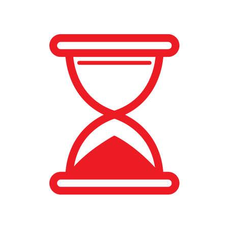 hourglass icon Stock Vector - 77490677