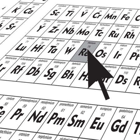 periodic table of elements Иллюстрация
