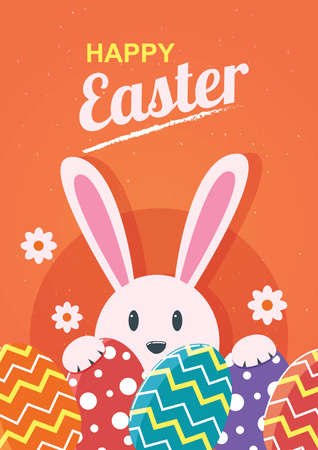 happy easter design Stock Vector - 77503906