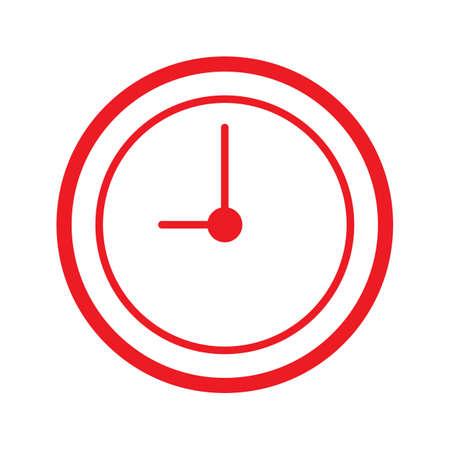 clock icon Stock Vector - 77392660