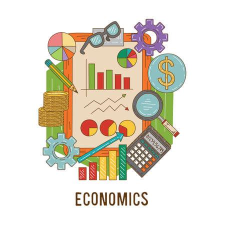 economics concept Stok Fotoğraf - 80145882