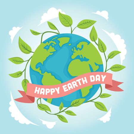 earth day design Stock fotó - 77394861