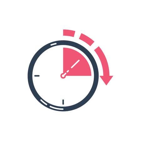 14 시간 아이콘