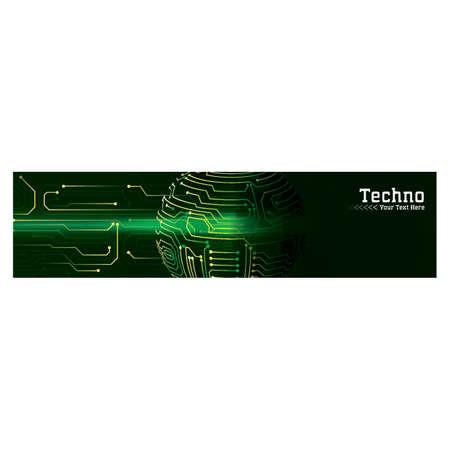 technological web banner