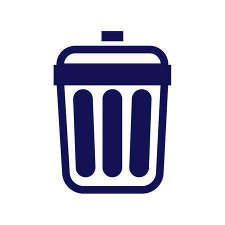 rubbish bin Illustration