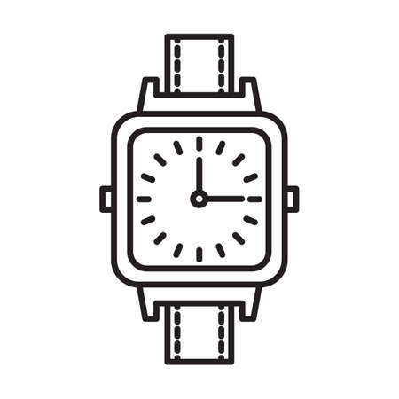 wristwatch Ilustrace