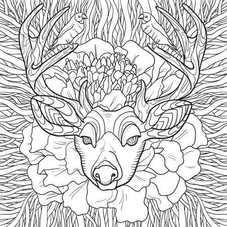 reindeer design Imagens - 77564851