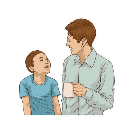 父と息子のデザイン