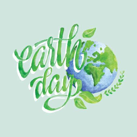 earth day design Фото со стока - 77490759