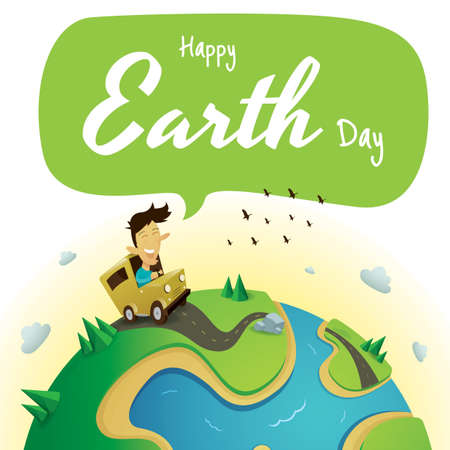earth day design Stock fotó - 77324977