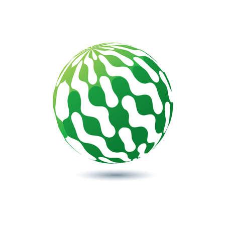 グローブのロゴの要素