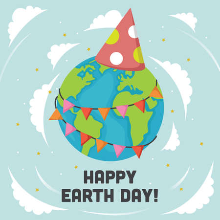 earth day design Stock fotó - 77503387