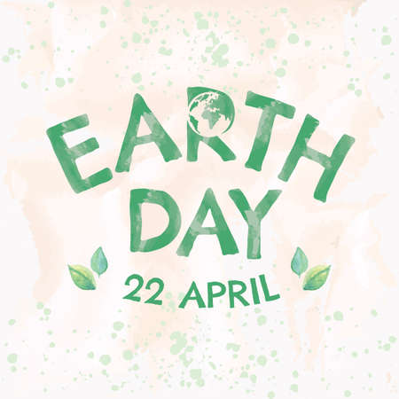 Earth day design.