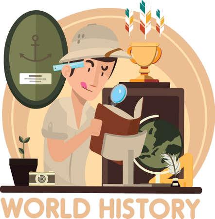 world history concept