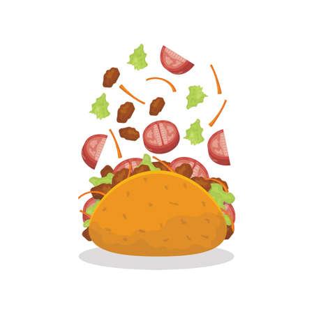 tossed taco