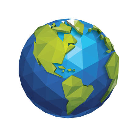 地球の日デザイン  イラスト・ベクター素材