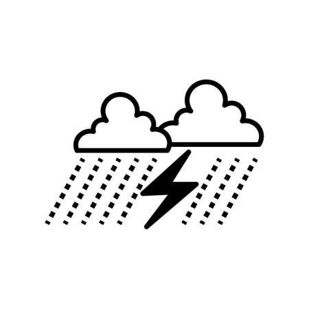 Thunderstorm Reklamní fotografie - 77185069