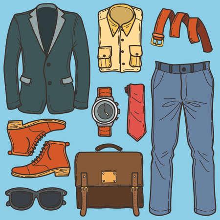 men fashion set