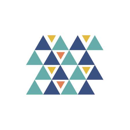 Aztec pattern Illustration