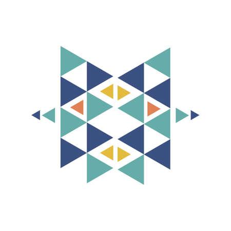 Aztec pattern Иллюстрация