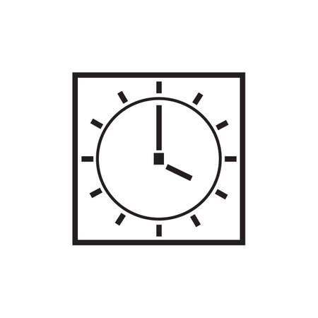 Clock icon Ilustração