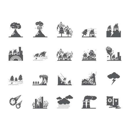 Colección de eventos de desastres