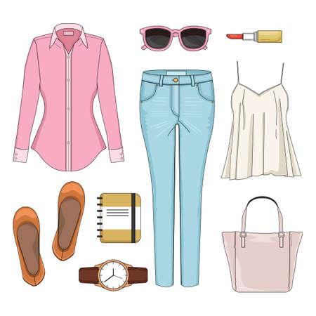 女性ファッション セット