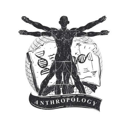 Icona di antropologia. Archivio Fotografico - 77172274