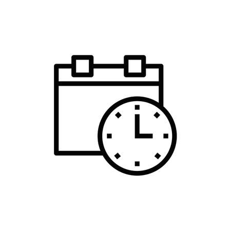 Making appointment icon. Ilustrace