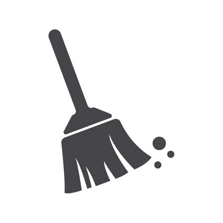 Broom icon. Çizim
