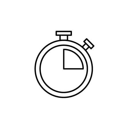 ストップウォッチのアイコン。  イラスト・ベクター素材