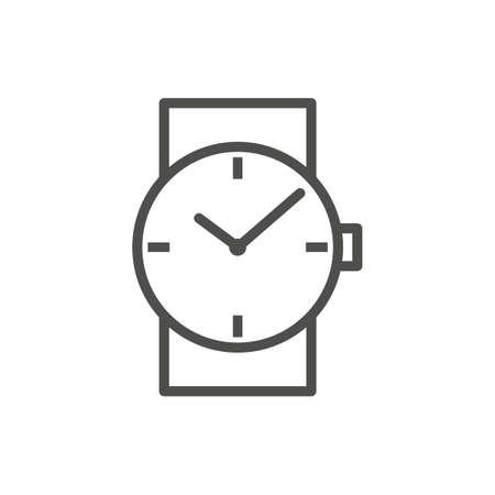 腕時計のアイコン。