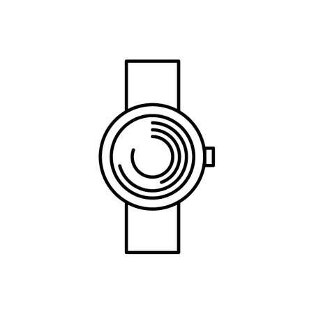 デジタル時計のアイコン。  イラスト・ベクター素材