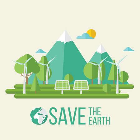 Earth day design.