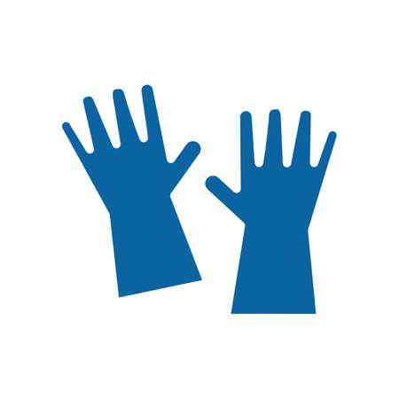 Washing gloves Reklamní fotografie - 77193329