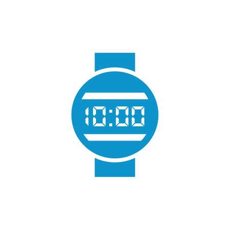Digital watch icon Ilustrace