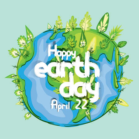 earth day design Stock fotó - 77328068