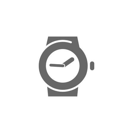 手首の時計アイコン  イラスト・ベクター素材