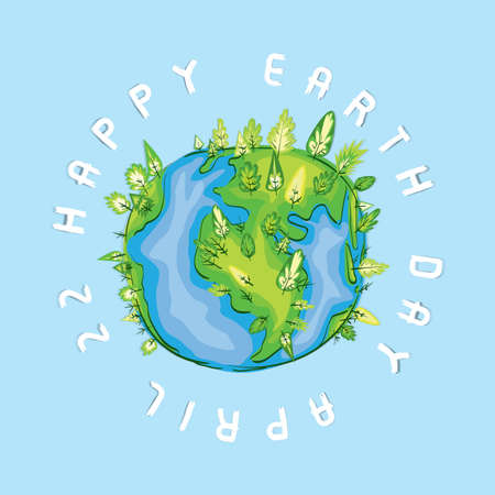 Earth day design Stock fotó - 77172318