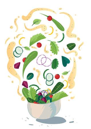 Tossed salad