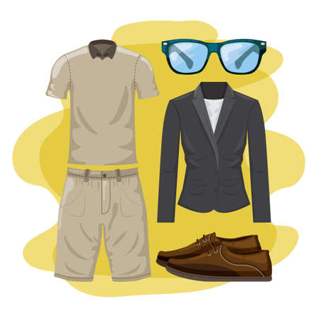 Men fashion set