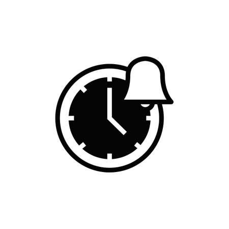 Alarm clock icon Illustration
