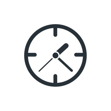 Clock icon Иллюстрация